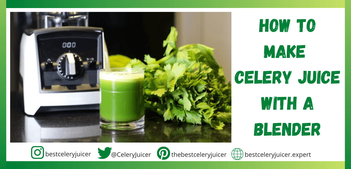 How to Make Celery Juice with a Blender